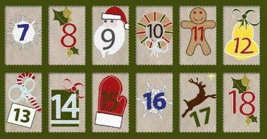 Calendario de adviento para Navidad
