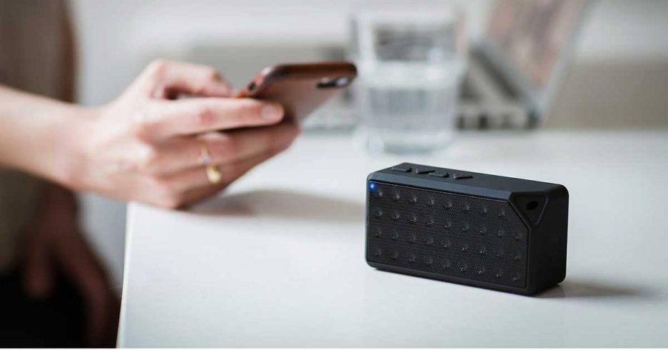 Altavoz portátil Bluetooth para el ordenador