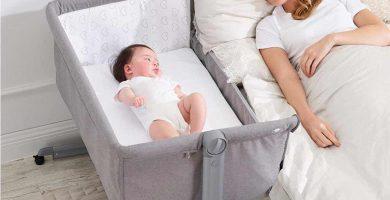 Una de las mejores mini cunas para bebés