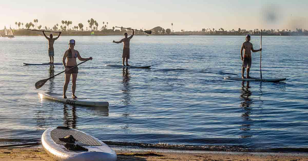 Carreras de paddle surf