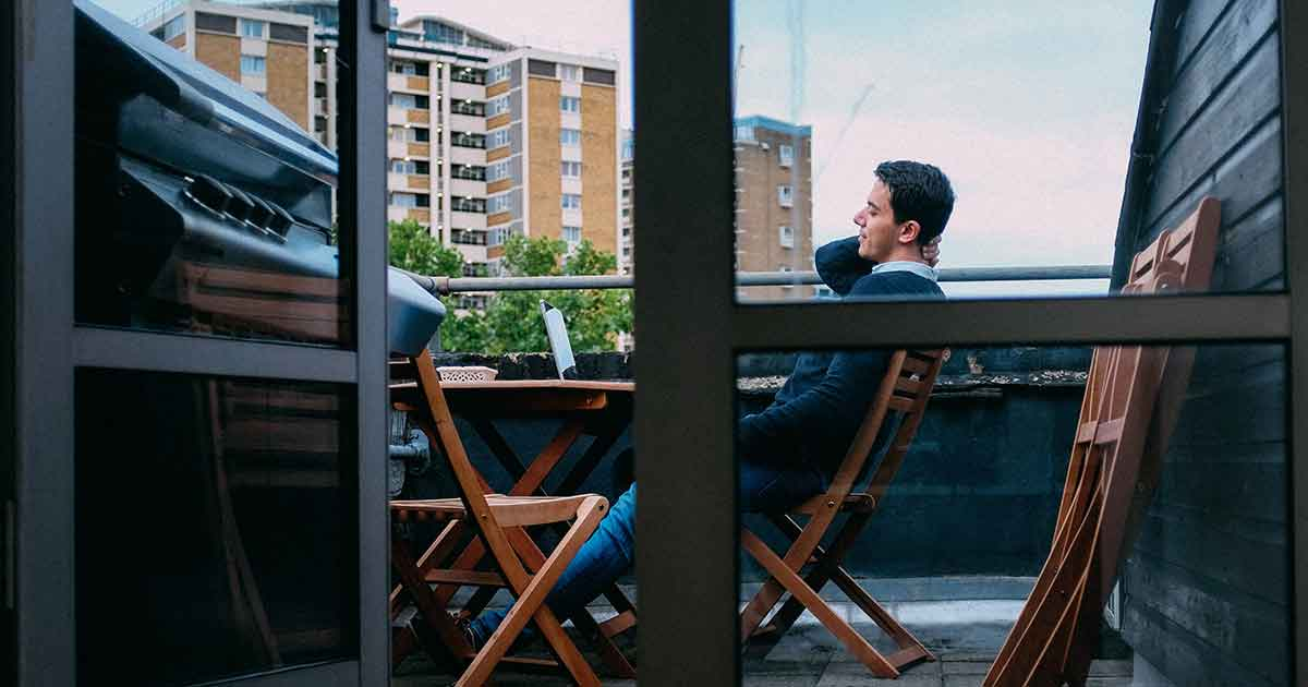 Es posible hacer una barbacoa en un piso, terraza o balcón