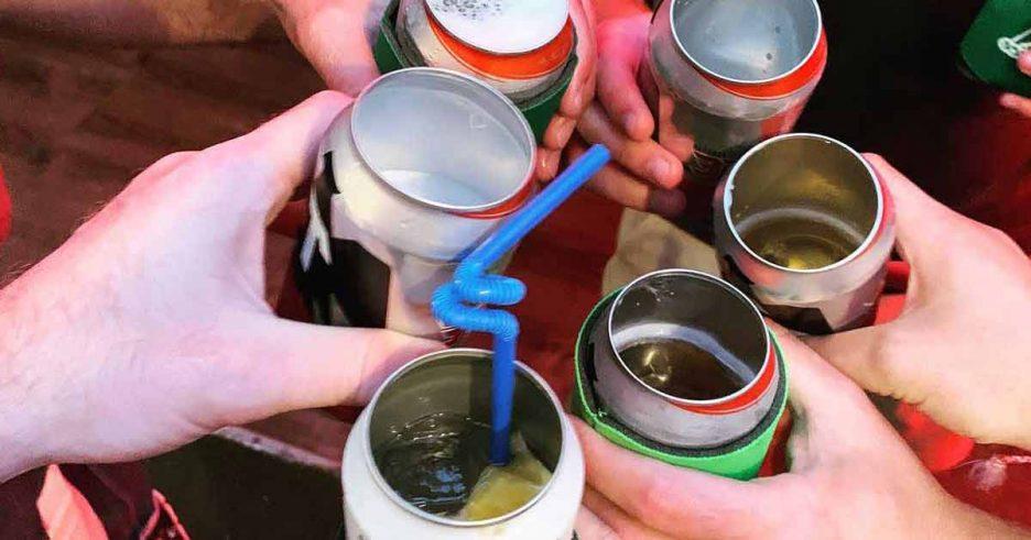 Abrir latas de refresco y de cerveza de alumnio