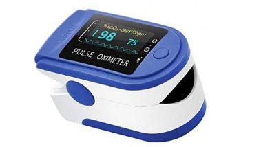 Medidor de oxígeno en sangre