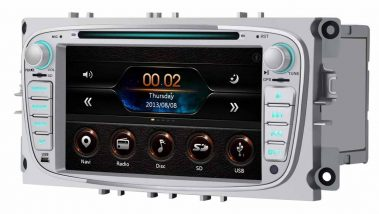 Radio 2 DIN con pantalla grande
