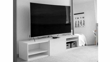 Muebles de diseño a medida para la televisión, el equipo de música y el ordenador