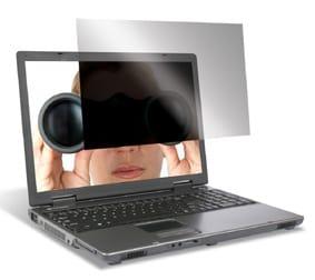 Pantallas de ordenadores antiespías gracias a filtros de privacidad
