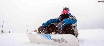 El snowboard es el deporte de invierno con mayor siniestralidad