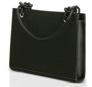 ¿Un maletín o un elegante bolso?