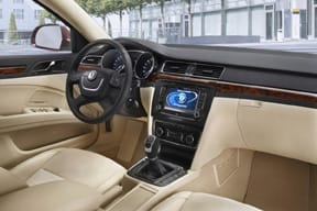 Interior del Superb Combi