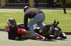 El mayor riesgo de sufrir un accidente de moto se produce durante el primer año