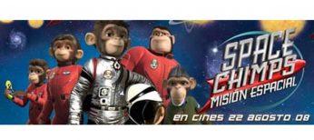 Pignoise y Amaia Salamanca prestan su voz a 'Space Chimps: misión espacial'