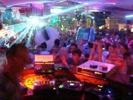 Discoteca en Ibiza.