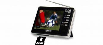 Televisión de bolsillo con TDT y disco duro para fotos, vídeos, música...