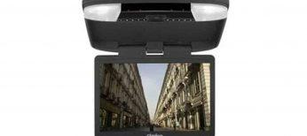 Monitores de techo con reproductor de DVD para el coche