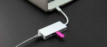 Multiplica las conexiones USB 2.0 con un Hub de 7 puertos