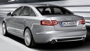 Parte trasera del nuevo Audi A6 viene con nuevos motores