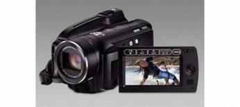 Dos nuevas videocámaras HDD Canon de 60 y 120GB