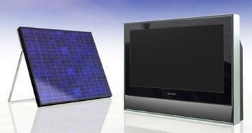 Primer televisor LCD alimentado con energía solar