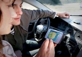 GPS navegador movil