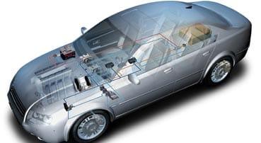 Tecnología para accionamientos híbridos suaves y fuertes de Bosch