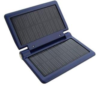 Cargador solar para móviles, reproductores MP3, cámaras o videoconsolas