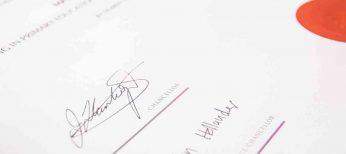 La falsificación de firmas crece en momentos de crisis