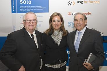 Juan Mari Arzak, del Grupo Arzak, y Francisco Martín Frías, Presidente de MRW, los mejores directivos del año