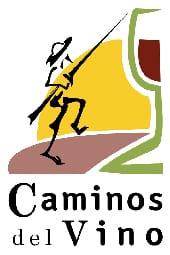 Logo de la ruta para conocer el Quijote, Caminos del Vino de la Mancha