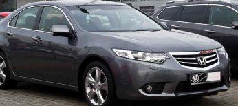 El Honda Accord, líder de EuroNCAP
