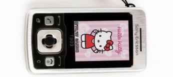 Segunda edición del Sony Ericsson T303 Hello Kitty
