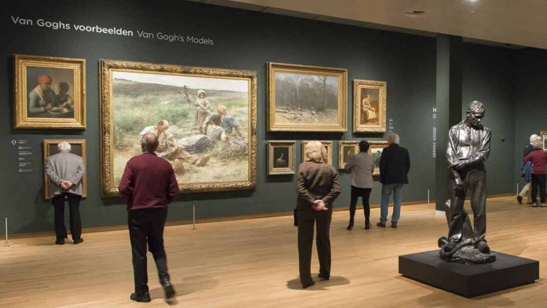 Primera exposición sobre las obras vespertinas y nocturnas de Van Gogh