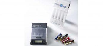 Cargador para todo tipo de pilas, tanto alcalinas como recargables