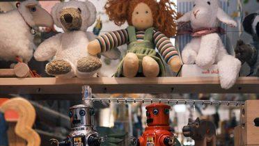 El color de los juguetes influye en los niños