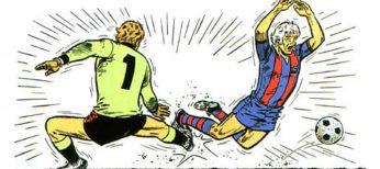 El fútbol y el cómic, exposición del próximo Ficomic