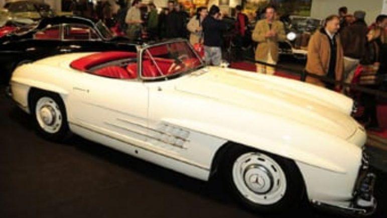 El coche más caro de Auto Retro es un Mercedes de 495.000 euros