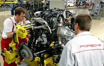 El diesel de Porsche empieza a producirse