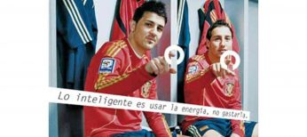 Los futbolistas de la Selección Española ayudan a concienciar sobre el ahorro de energía