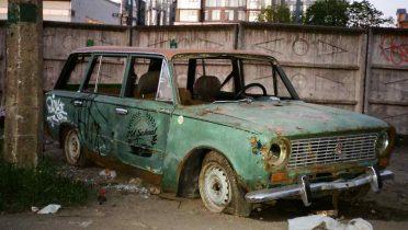 Los automóviles viejos, combustible para la industria