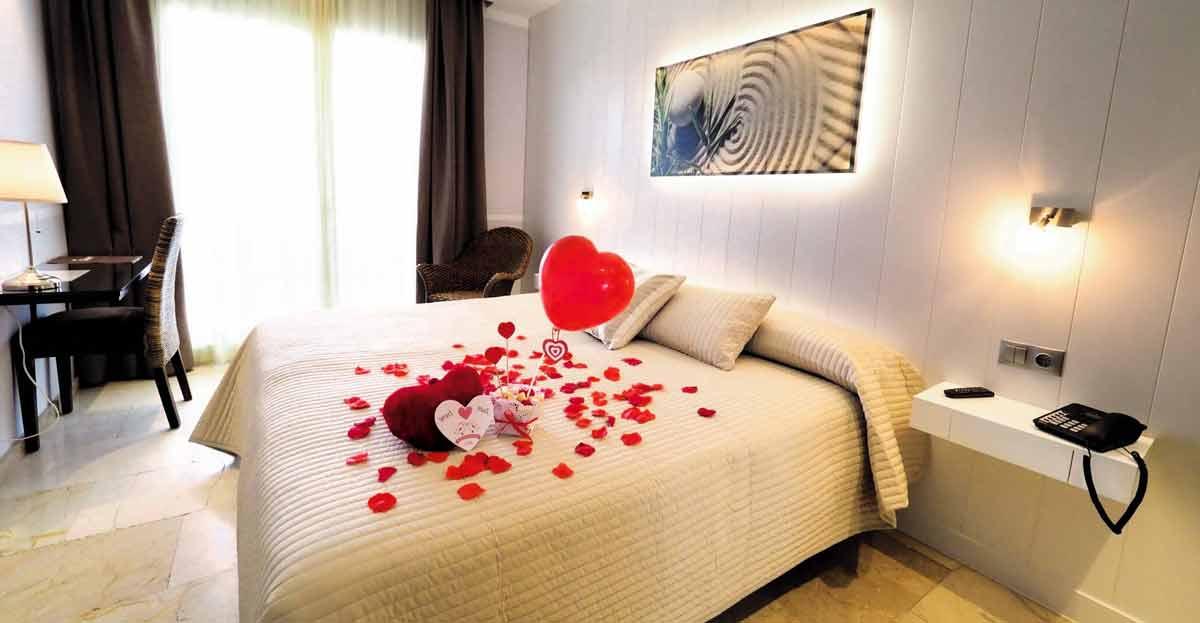 Diez hoteles para San Valentín