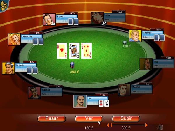 Imagen del juego Aprender a jugar al póquer jugando