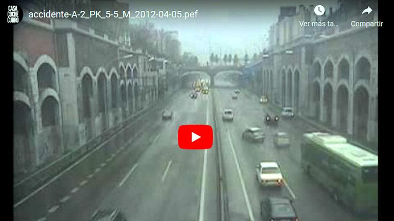 Video explicativo accidente de tráfico de la DGT