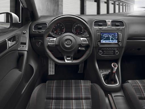 Interior del Golf GTI