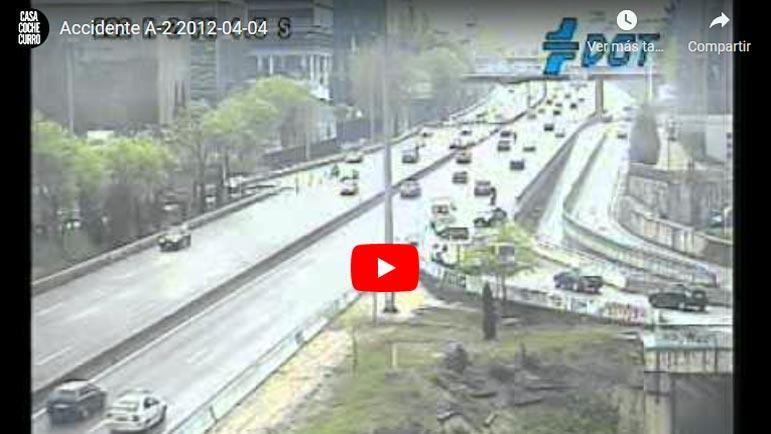 Video explicativo accidente de tráfico