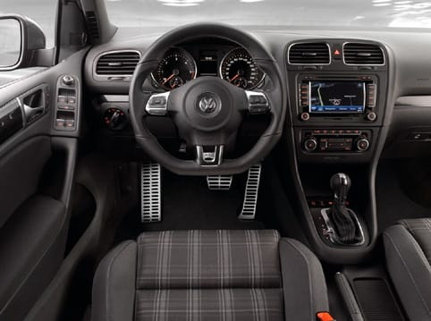 Interior del Golf GTD