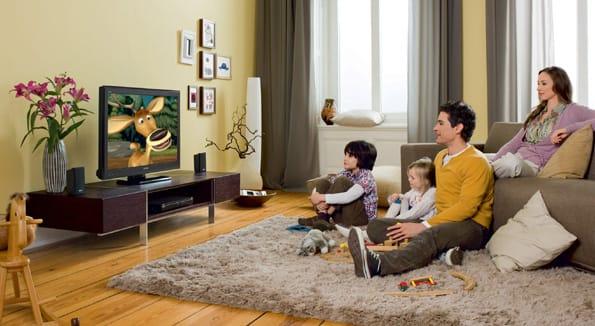 El televisor Sony de 200 Hz