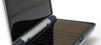 El cargador solar de bolsillo