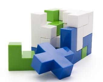 Puzzle Bedlam Cube