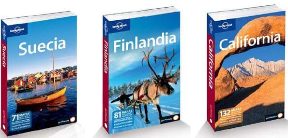 Lonely Planet cuenta con un sinfín de guías.
