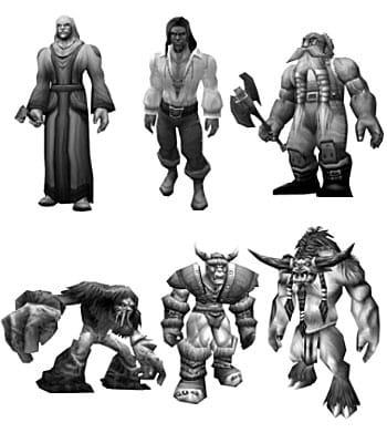 Robo personajes World of Warcraft