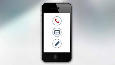 Pon AA en la agenda del móvil para casos de emergencia